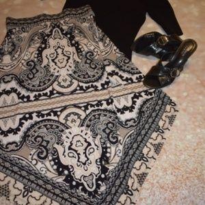 Beautiful INC Midi Skirt Sz: S